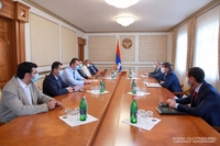 President Harutyunyan received the delegation of the Association of Meat and Animal Feed Manufacturers and Stock Breeders