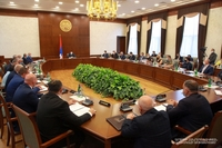 Arayik Harutyunyan chaired the first meeting of the Artsakh Republic Cabinet of Ministers