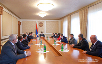 Transfer of the Sarsang Reservoire waters may become a «project of the century» for Artsakh. Arayik Harutyunyan convoked a working consultation