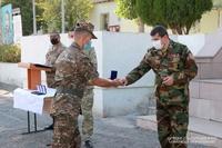 Հանրապետության նախագահը պետական բարձր պարգևներ է հանձնել ՊԲ ՀՕՊ ստորաբաժանման մի խումբ զինծառայողների