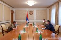 President Arayik Harutyunyan received Onik Gasparyan