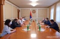 Presient Harutyunyan met the representatives of the IT sphere