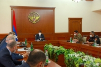 President Harutyunyan chaired a regular sitting of the Commandant office. The issue of resuming the activities of educational institutions was dicussed as well