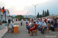 Նախագահ Արայիկ Հարությունյանն այցելել է Ասկերանի շրջանի Բերքաձոր համայնք