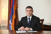 AR State Minister Grigory Martirosyan's message on the Artsakh Republic proclamation day