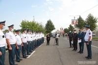 Президент Араик Арутюнян встретился с группой сотрудников дорожной полиции Полиции Арцаха