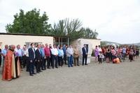 Президент Араик Арутюнян принял участие в торжественной церемонии открытия отремонтированного здания школы в селе Дживани