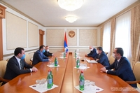 The republic's President thanked the Government of the Republic of Armenia for donating 7 ambulances and 3 reanimobiles to Artsakh