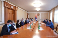 President Arayik Harutyunyan received the delegation of the RA Ministry of Foreign Affairs