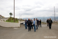 President Arayik Harutyunyan visited the territory of the cemetеry located in the eastern part of the capital