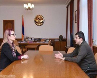 Mane Tandilyan was appointed Minister of Labor, Social Affairs and Housing