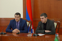 The State Minister introduced the newly appointed Minister of Healthcare