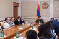 Президент Араик Арутюнян принял членов научного совета Арцахского государственного университета
