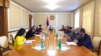 В Аппарате Президента Республики Арцах состоялось заседание совета по вопросам решения правовых проблем, обусловленных войной