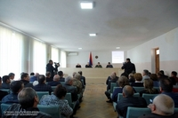 Президент Арутюнян посетил Мартуни и представил нового руководителя администрации района Эдика Аванесяна