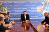 Григорий Мартиросян представил министра экономики и сельского хозяйства