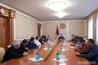 Issues of temporary resettlement of the residents of the Askeran region's occupied villages discussed at the Presidential Office