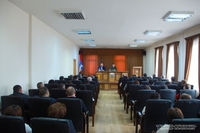 Արցախում նոր պատերազմ սկսելու մասին խոսակցություններն անհիմն են. Արայիկ Հարությունյանը հանդիպել է ԱՀ ՊԵԿ աշխատակիցների հետ