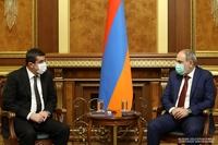 """Премьер-министр Армении: """"Считаю важным поделиться с Вами содержанием бесед с президентом РФ"""""""