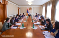 Possible solutions to some post-war legal issues were discussed in the office of the President of the Artsakh Republic