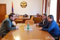 Президент Республики Арцах принял мэра Еревана