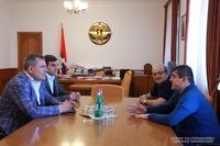 ԱՀ նախագահն ընդունել է «Իքս Գրուպ» ընկերության տնօրենների խորհրդի նախագահ Խաչիկ Խաչատրյանին