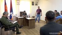 ԱՀ նախագահ Արայիկ Հարությունյանն աշխատանքային հանդիպումներ է ունեցել Շուշիի շրջանի Եղծահող, Մեծ Շեն, Հին Շեն և Լիսագոր համայնքներում