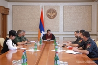 Arayik Harutyunyan instructs to work out mechanisms for forgiveness and compensation of some traffic fines