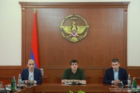President of the Artsakh Republic introduced Minister of State