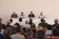President Arayik Harutyunyan paid a working visit to Shosh and Sarushen, communities in Askeran region, Karmir Shuka and Taghavard, communities in Martuni region