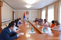 Karen Shahramanyan was appointed Chief of the Office of the Artsakh Republic President