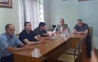 Artak Beglaryan toured some frontline villages of Askeran region