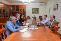 Государственный министр обсудил с руководителем миссии МККК гуманитарные программы, реализуемые в Арцахе
