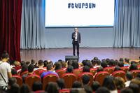 "Artak Beglaryan attached importance to ""Tech week Artsakh 2021"" conference held  in Stepanakert"