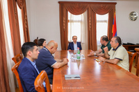 Артак Бегларян обсудил с Варданом Урутяном ряд образовательных программ