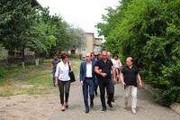 Государственный министр посетил Степанакерсткий филиал специальной физико-математической школы имени Арташеса Шагиняна при Ереванском государственном университете