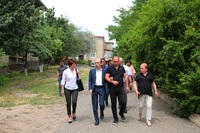 The State Minister visited the Stepanakert branch of a special school of physics and mathematics