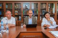Պետական նախարարը գիտության զարգացման ծրագրեր է քննարկել Արցախի գիտական կենտրոնում