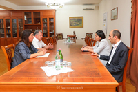 The State Minister received the chairman of the RA National Academy of Sciences