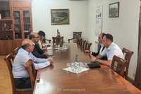 Պետական նախարարն ընդունել է Հայաստանի բանկերի միության ղեկավարությանը