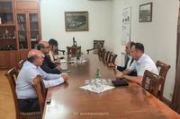 Государственный министр принял делегацию Союза банков Армении