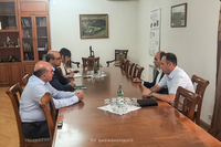 The State Minister received the leadership of the Union of Banks of Armenia