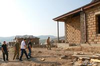 Начато строительство трубопровода, соединяющего реку Патара с системой водоснабжения Степанакерта. Президент ознакомился с ходом работ