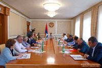 President Harutyunyan convened an enlarged working consultation