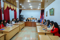 The State Minister participated in the launch of the master's program in social work