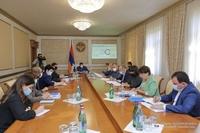 Президенту республики были представлены результаты исследования гуманитарных последствий войны