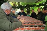 Президент Араик Арутюнян посетил общину Тагавард Мартунинского района